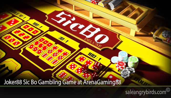 Joker88 Sic Bo Gambling Game at ArenaGaming88