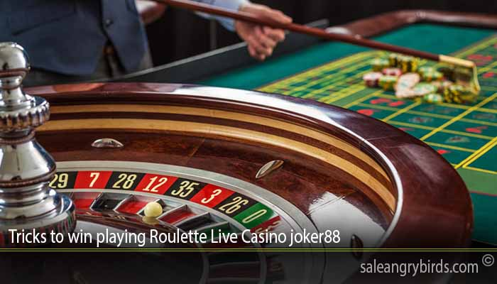 Tricks to win playing Roulette Live Casino joker88